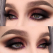 eye makeup glitter sparkley eye makeup Deepest eye makeup Natural ey emake up