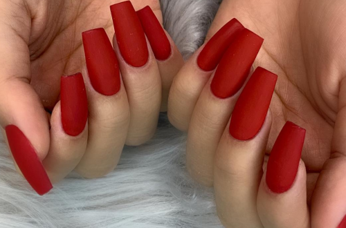 40 Unique Matte Nail Ideas to Makeup Your Short Or Long Nails