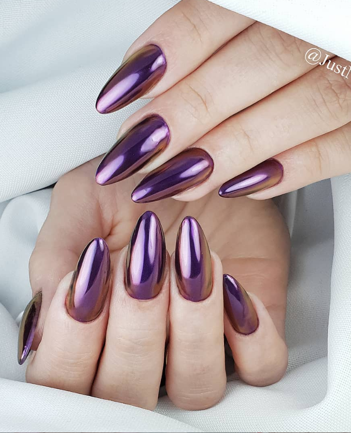 80 Pretty Acrylic Short Almond nails Design You Can't Resist In Spring & Fall