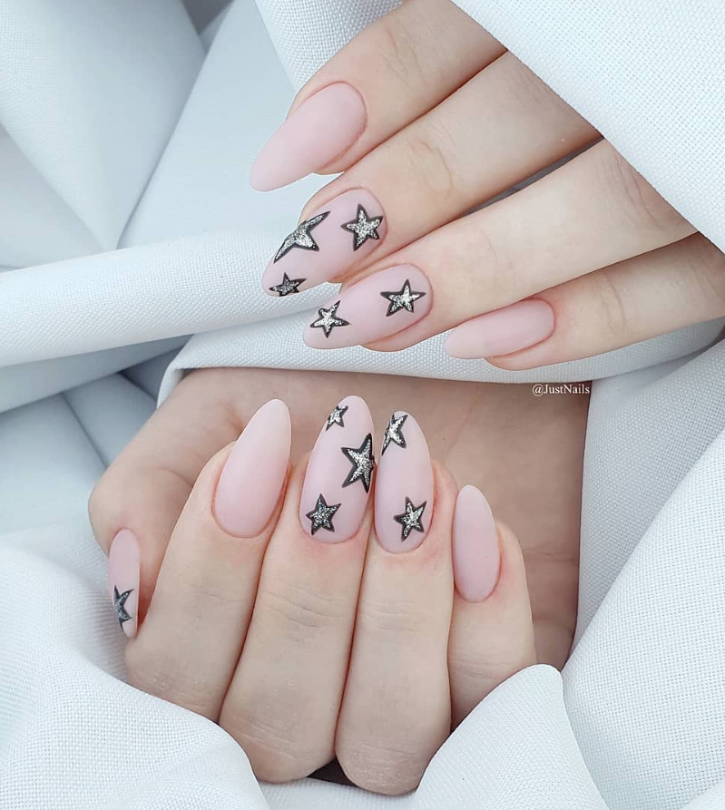 80 Pretty Acrylic Short Almond nails Design You Can't ...