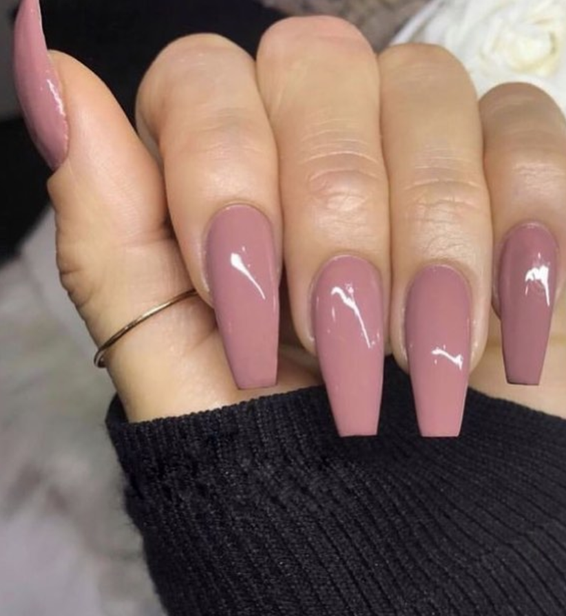 82 Trendy Acrylic Coffin Nails Design For Long Nails For