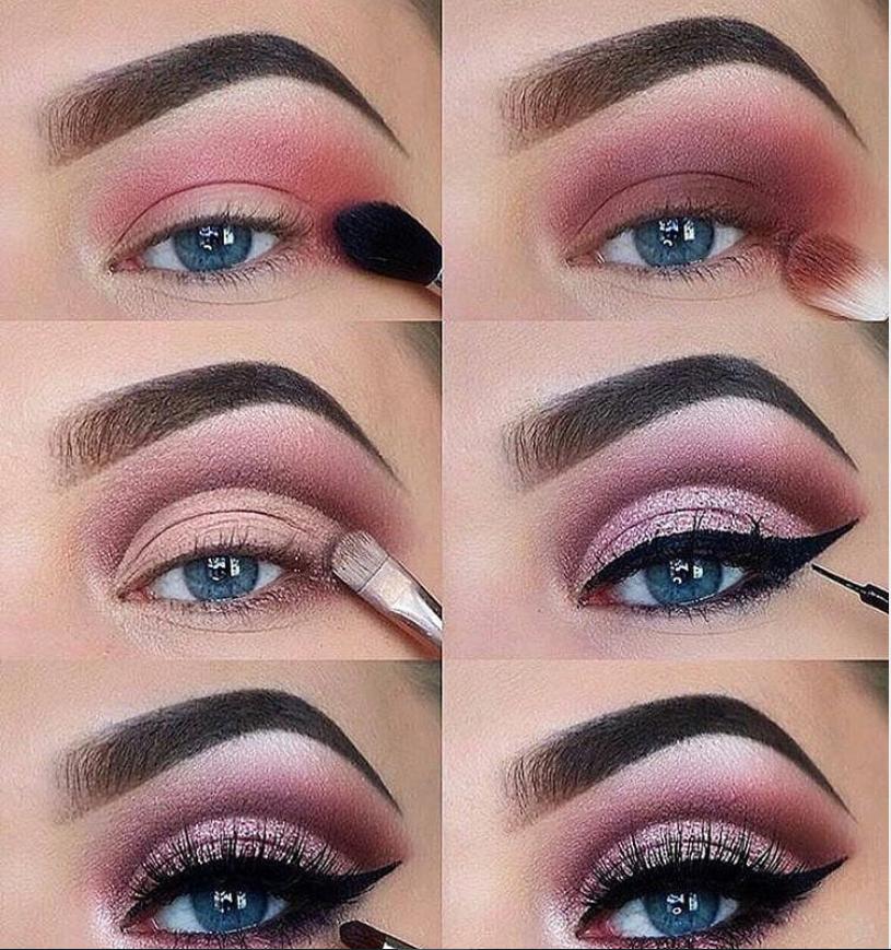 60 Easy Eye Makeup Tutorial For Beginners Step By Step ...