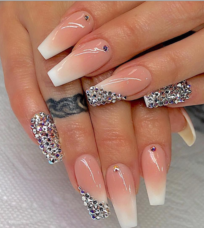 82 Trendy Acrylic Coffin Nails Design For Long Nails For ...