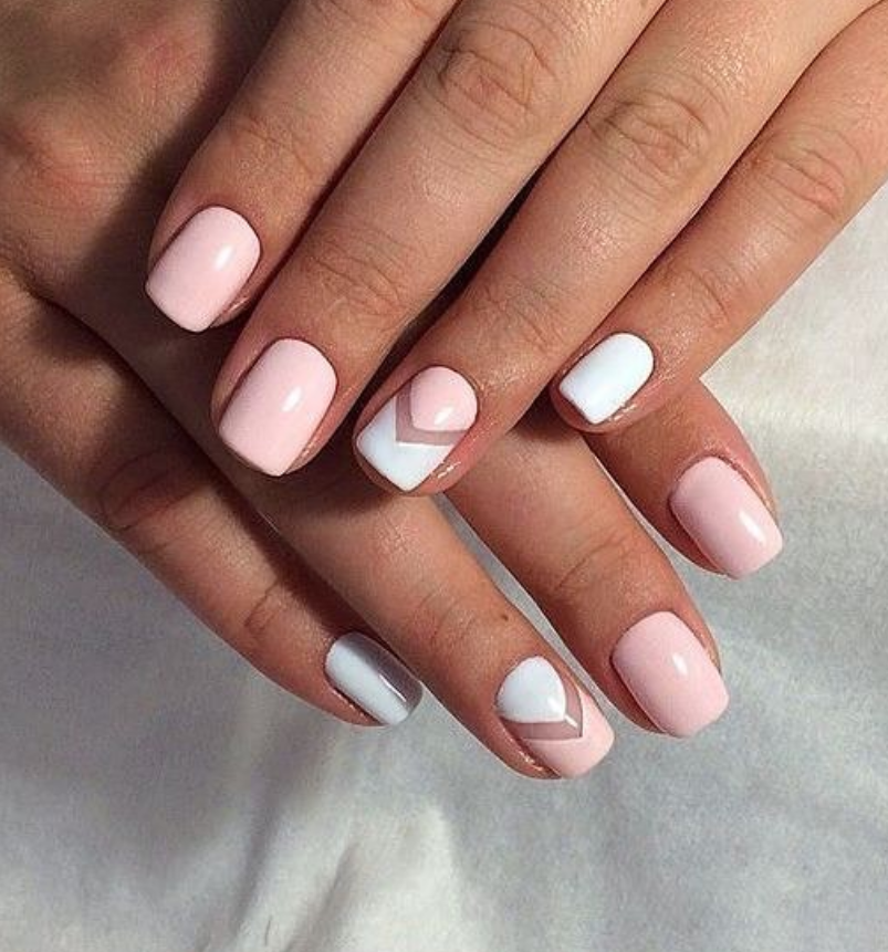 60+ Acrylic Square Nails Design And Color Ideas For Short