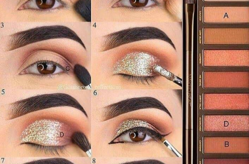 60 Easy Eye Makeup Tutorial For Beginners Step By Step Ideas(Eyebrow& Eyeshadow)