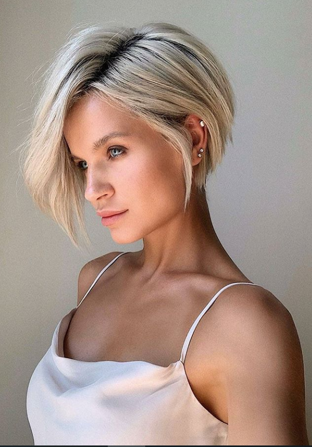 25 Chic Short Bob Haircuts For Cool Summer Hairstyle