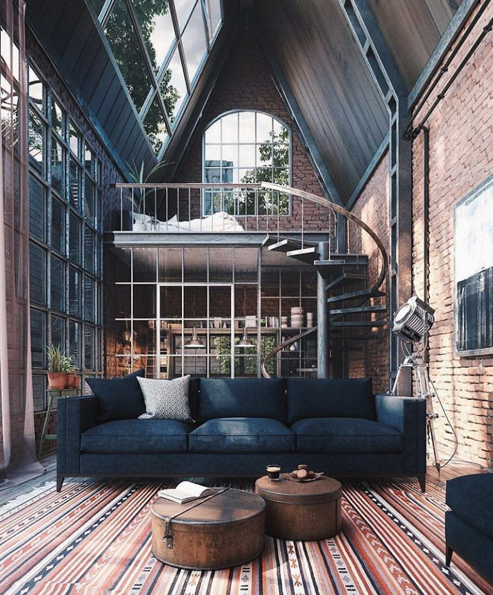 40 Awesome Cozy Loft Apartment Decorating Ideas On A