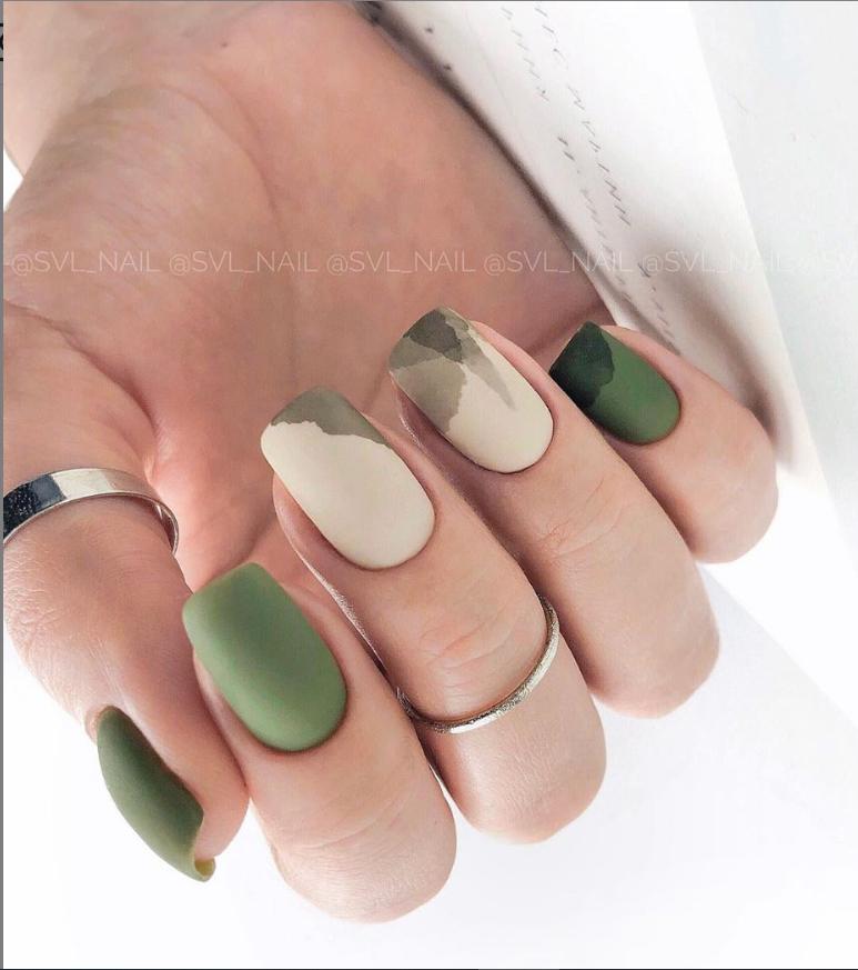 56 Hottest Natural Matte Short Nails Design Ideas Spring & Summer