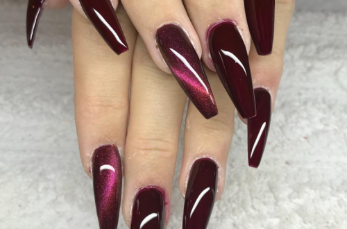 56 Stylish Acrylic Nude Coffin Nails Color Design For Spring & Summer