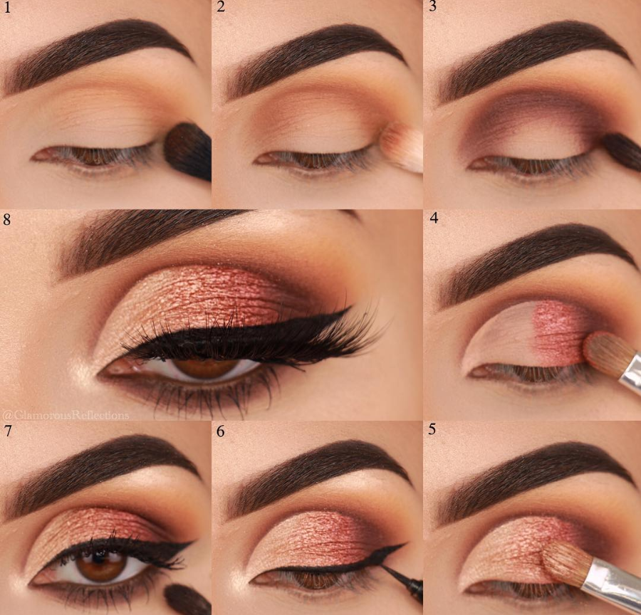Easy Steps Pink Eye Makeup Tutorial Ideas For Beginners To