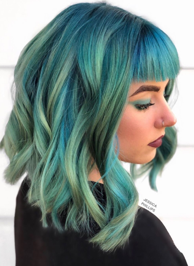 42 Perfect Hair Color And Hair Style For For Medium Length ...