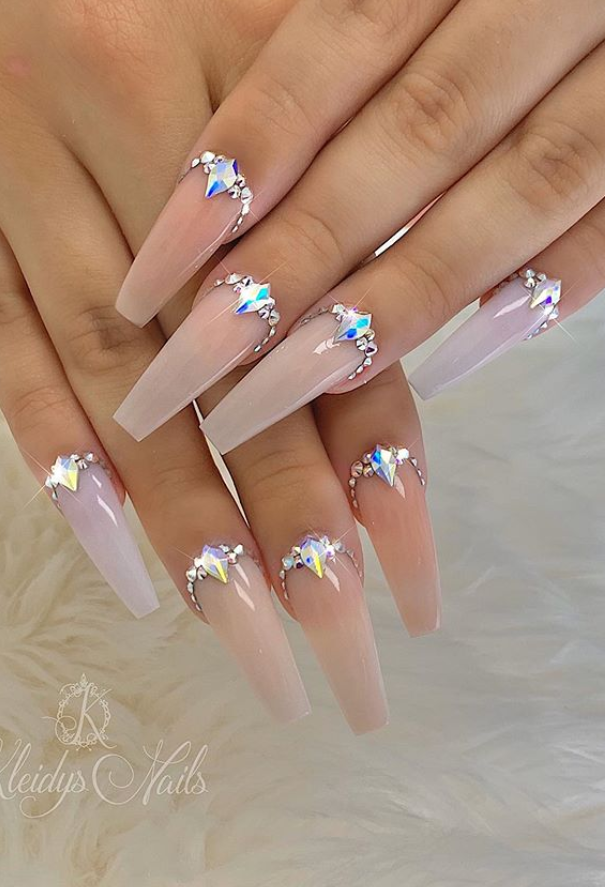 60+ Trendy Acrylic Coffin Nails Design To Light Up Your