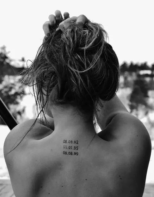 刺青  |  赤裸裸的背部文身,最诱惑。