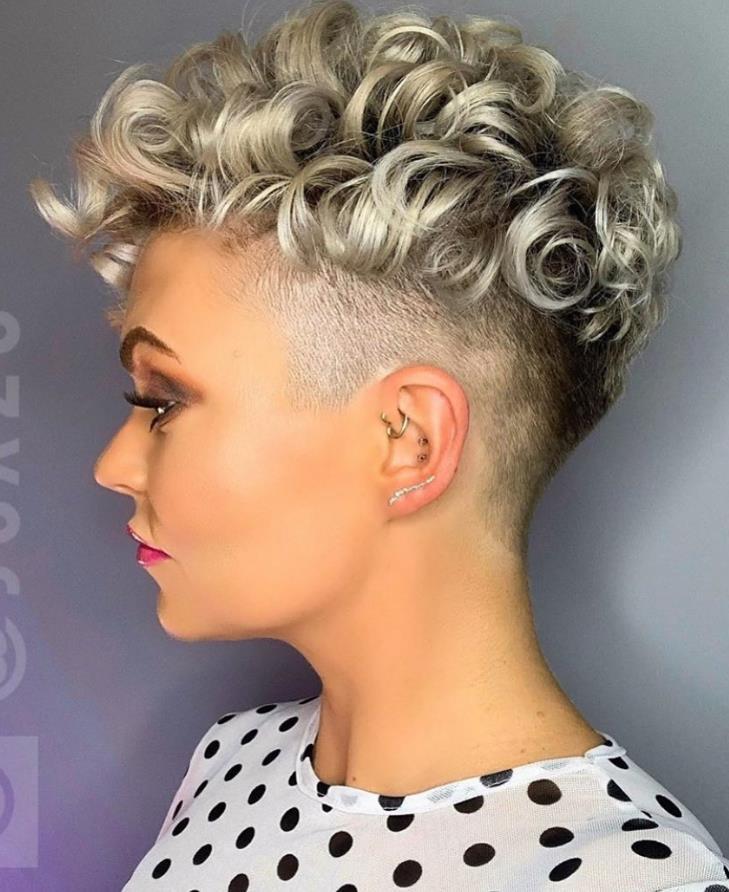 36 Pretty Fluffy Short Hair Style Ideas For Short Pixie ...