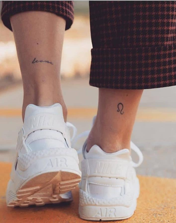30 Beautigul Tiny Foot Tattoo Design For Your First Tattoo Placement For Woman