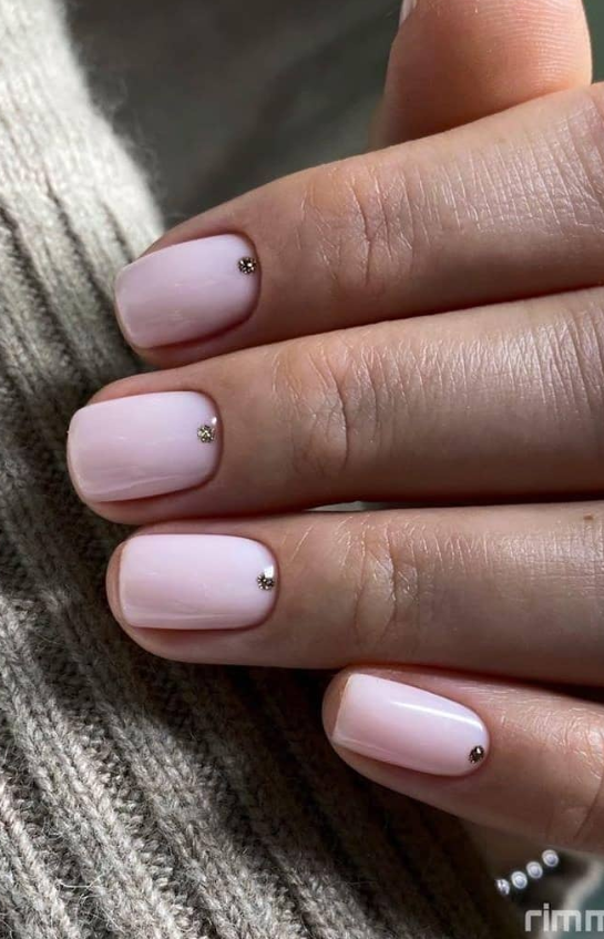 60 Pretty Pink Short Square Nails For Spring Nails Design