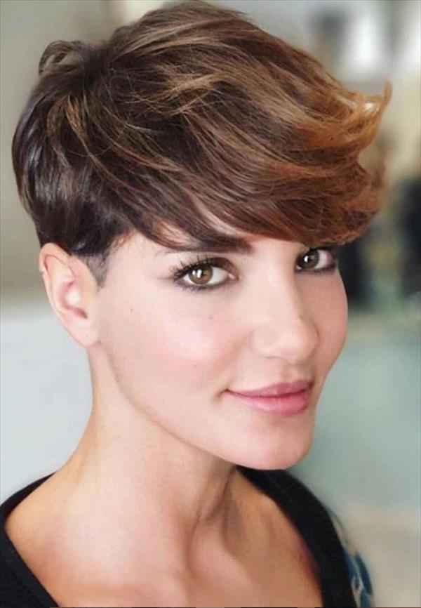 40 Chic Female Short hairstyle design to be cool !
