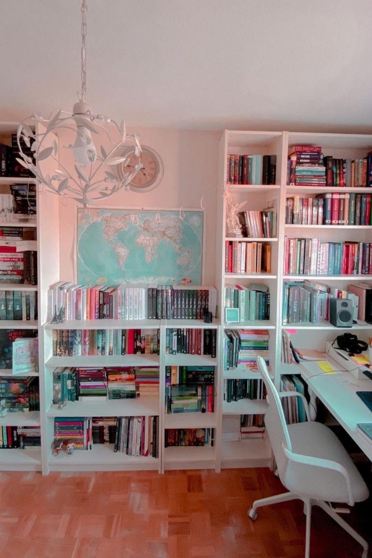 Brilliant home office bookshelves ideas